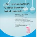 KAB Ebersberg - Gut wirtschaften, 30.01.2016 Plakat KBW EBE